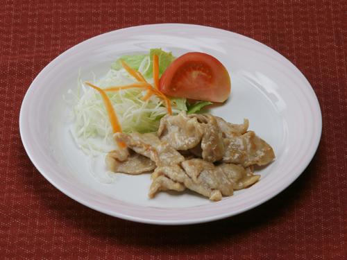 保育園の焼き・炒め物レシピ(豚肉のしょうが焼き)
