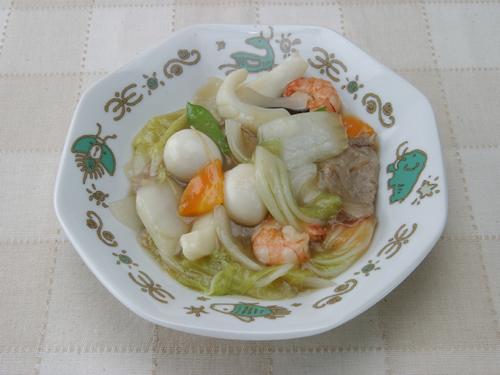 保育園の焼き・炒め物レシピ(八宝菜)