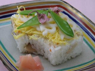 保育園のごはんレシピ(ひな寿司)