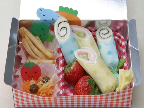 保育園のパン・麺レシピ(くるくるサンド)