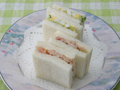 保育園のパン・麺レシピ(ミックスサンド)