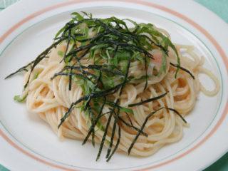 保育園のパン・麺レシピ(たらこスパゲティ)