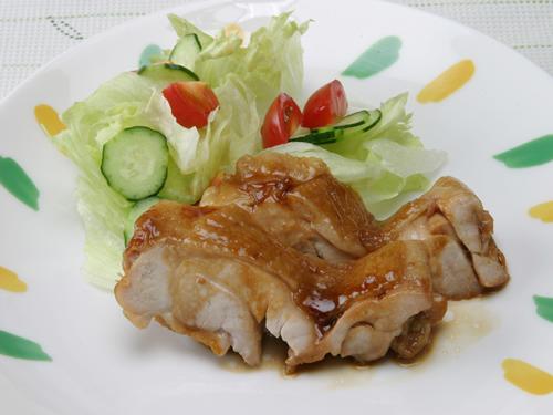 保育園の焼き・炒め物レシピ(鶏肉の照焼き)