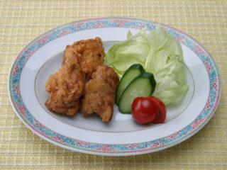 保育園の汁物レシピ(鶏の唐揚げ)