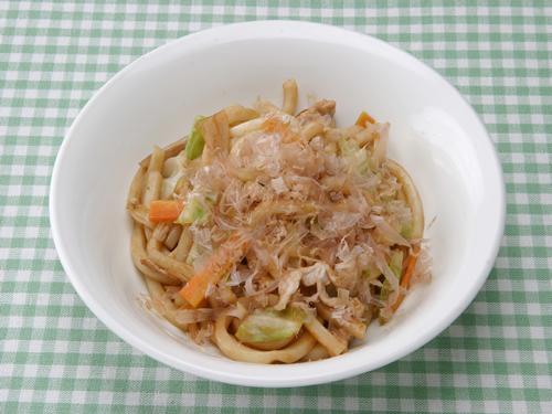 保育園のパン・麺レシピ(焼きうどん)