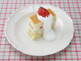保育園のおやつレシピ(バースデーケーキ)