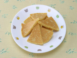 保育園のおやつレシピ(キャロットパンケーキ)
