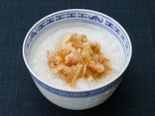 保育園のごはんレシピ(中華風粥)